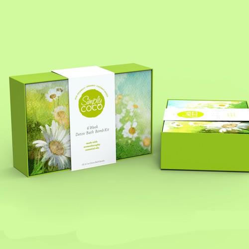 simple box for beauty company
