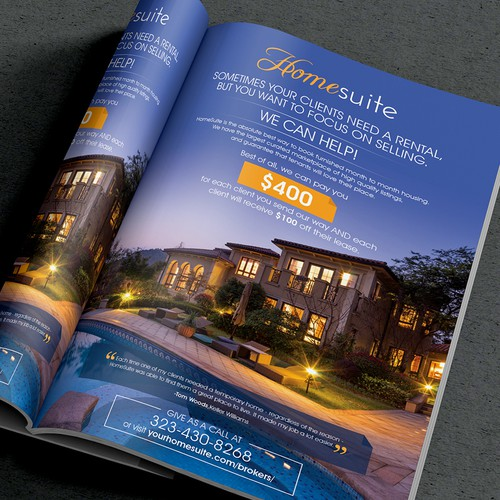 Impactful  Real Estate Magazine Ads