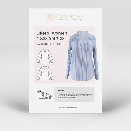 Layout Design for Sewing Pattern