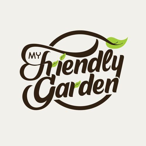 Logotype concept for My Friendly Garden