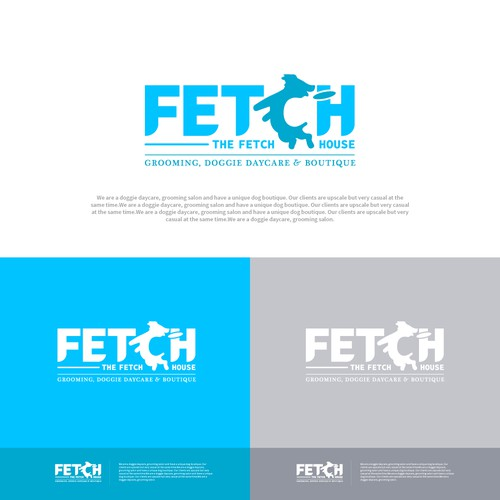 FETCH - Grooming Service Logo
