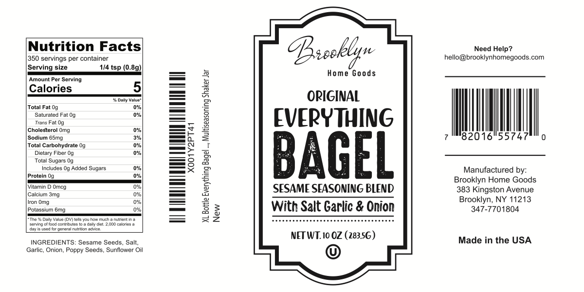 spice label packaging