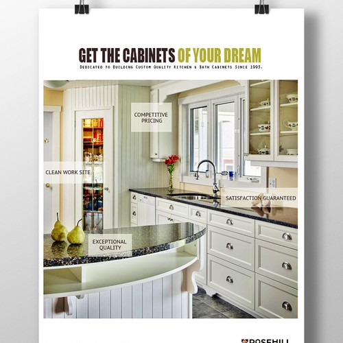 Get the cabinets of your dream