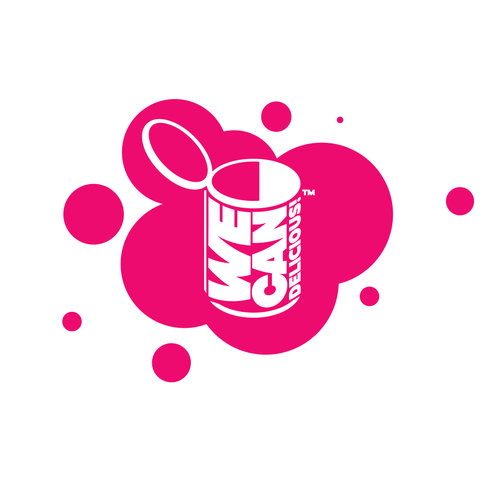 Pop art logo concept