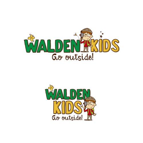 logo for WaldenKids