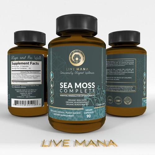 Label LIVE MANA