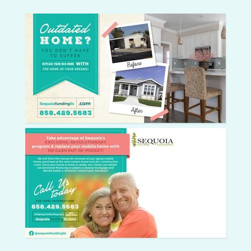 Postcard for Home Funding Program