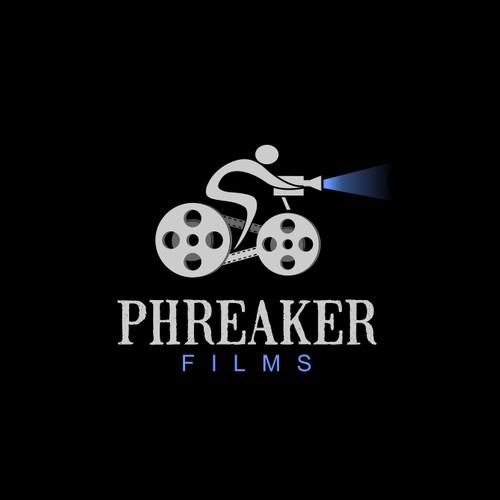 creative logo for Phreaker Films