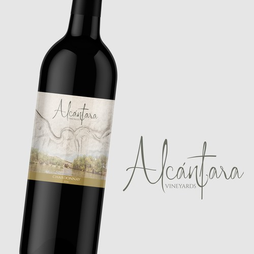 Alcántara Vineyards Logo