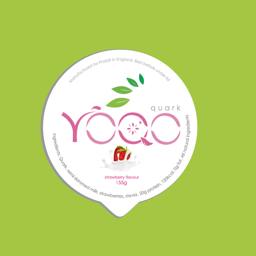 label yogurt