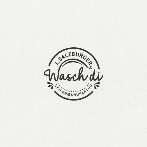 Bold logo concept for Wasch di