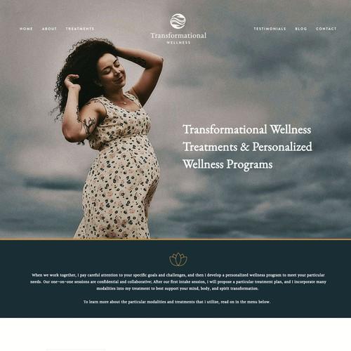 Website Design for Health & Wellness Provider