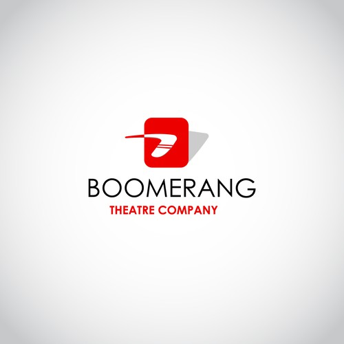 boomerang logo for theatre company