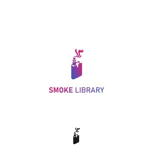 Smoke Library Vape Logo