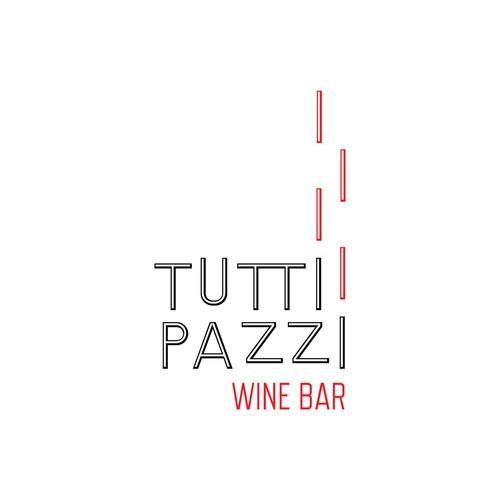 Logo Concept for family-run Wine Bar