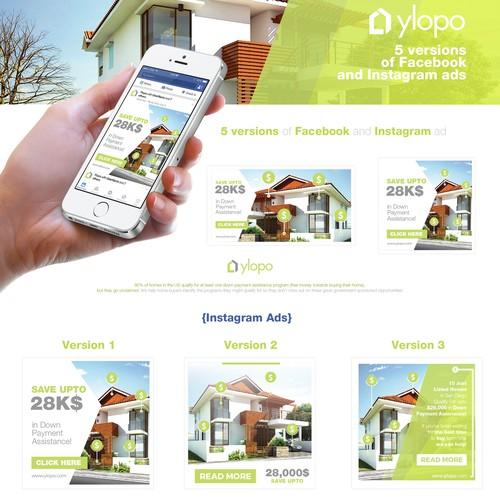 Ylopo - Banner Ad Design