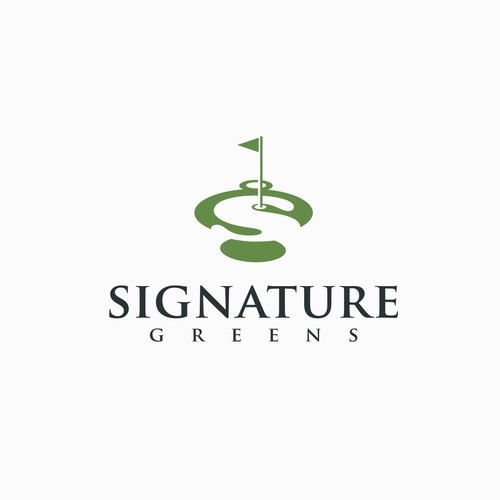 Signature Greens logo.