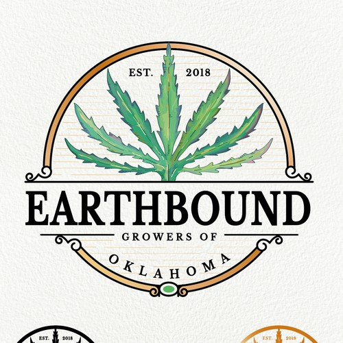 Logo design for marijuana growing business