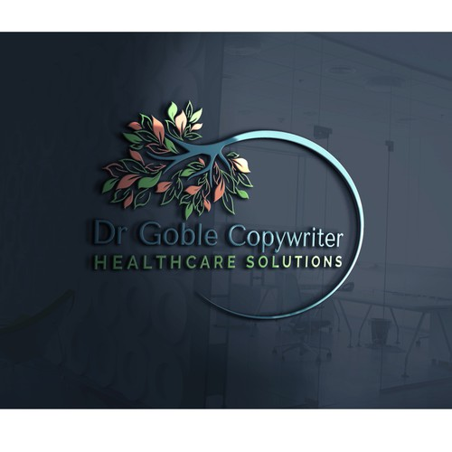 Professional logo for attracting alternative healthcare marketers
