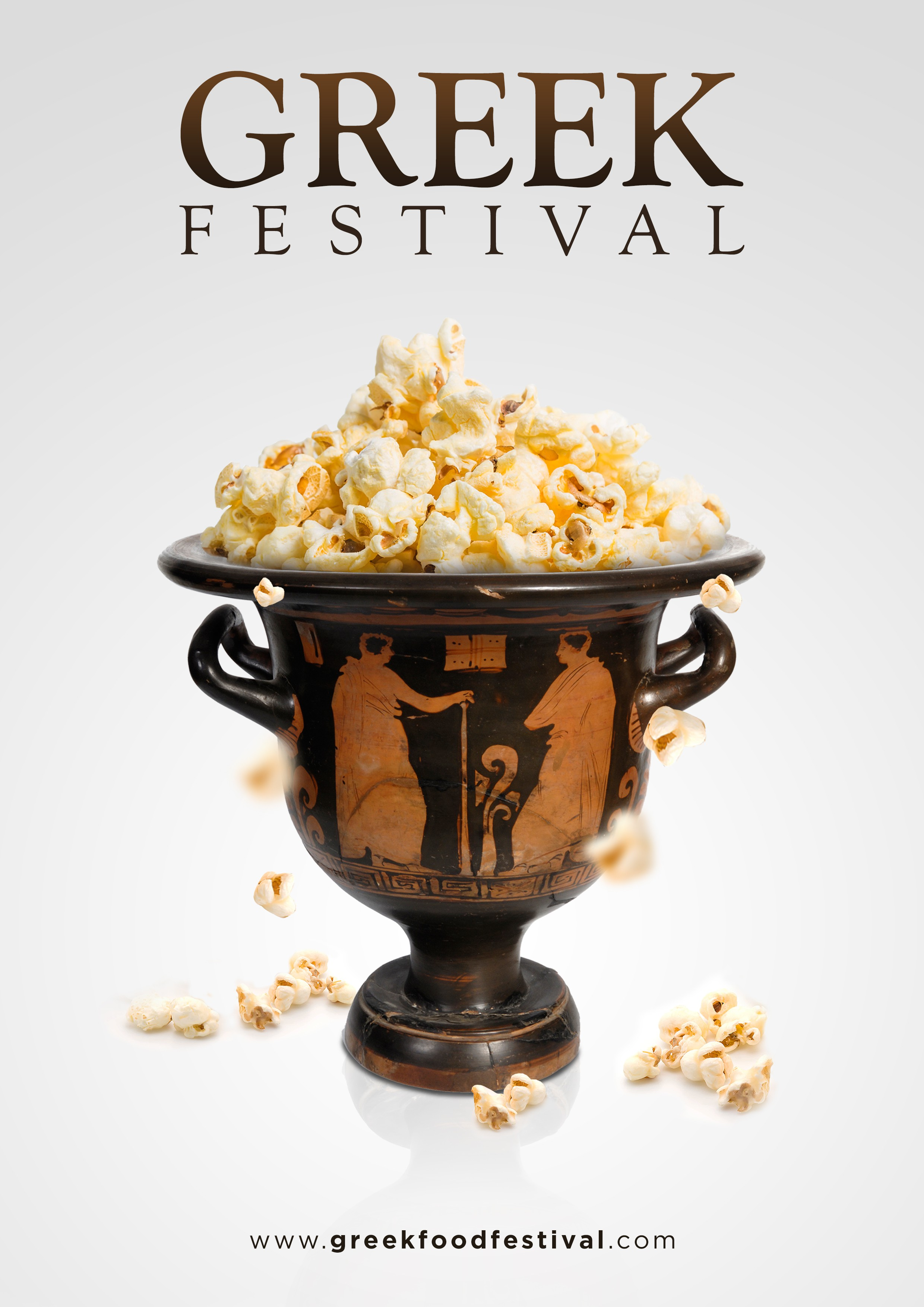 Popcorn Ad for Greek Festival
