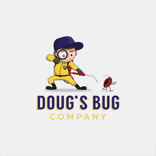 Logo for Doug's Bug Company
