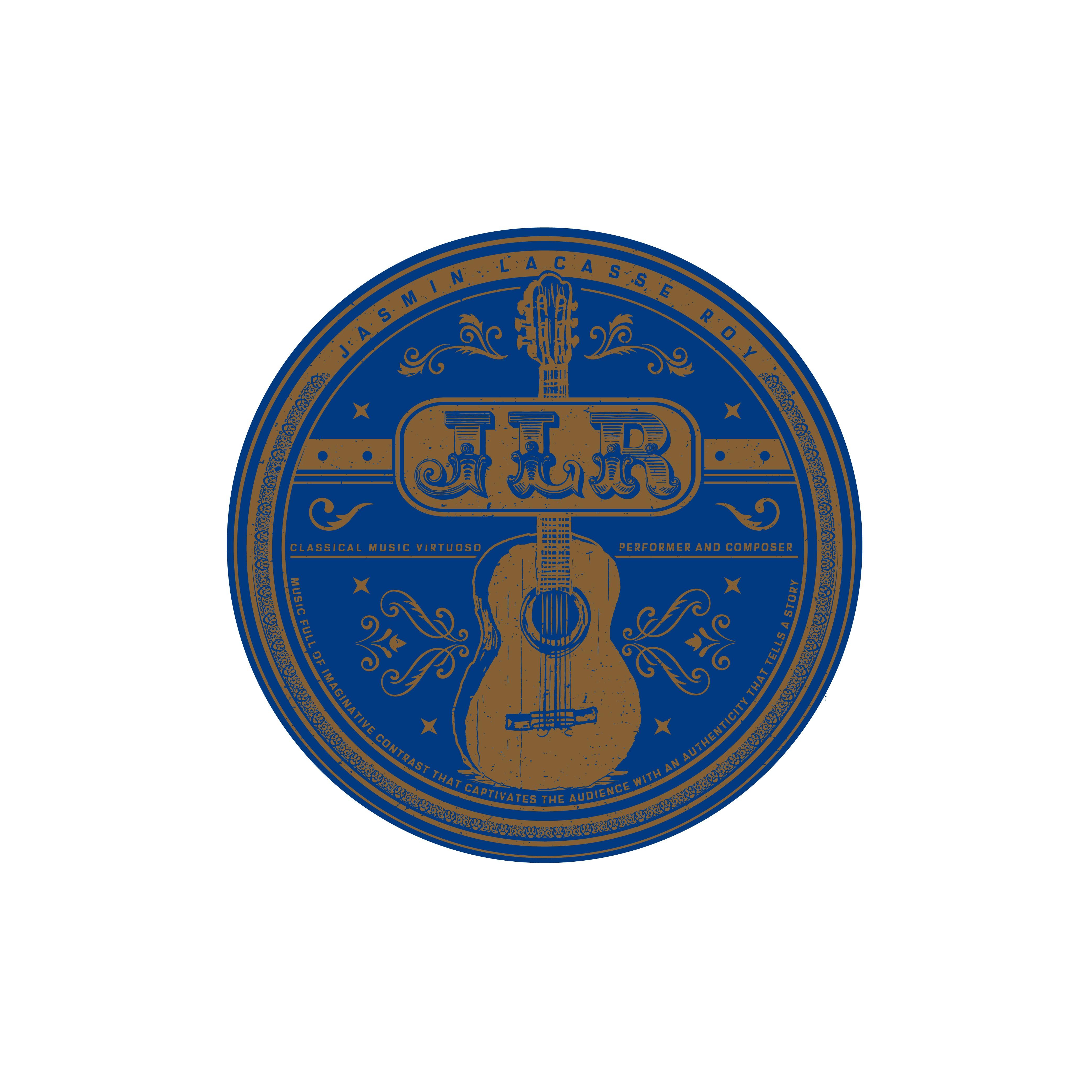 hand drawn Logo for a classical music virtuoso.