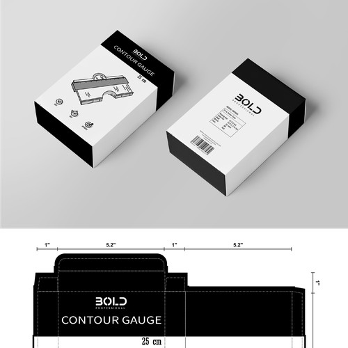 Packaging for Contour Gauge