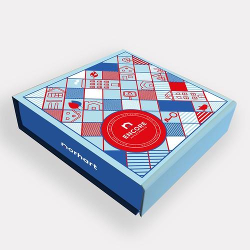 Box Packaging_Real Estate Gift Box