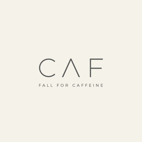 A logo for a unique, new concept cafe