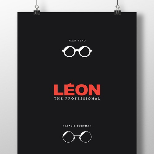 LEON The Professional Minimal poster