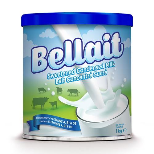 Design for Sweetened Condensed Milk