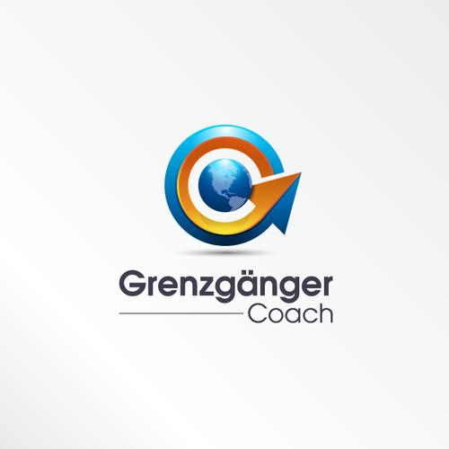 erstellt ein aussagekräftiges, wiedererkennendes, galaktisches Logo für den Grenzgänger Coach!