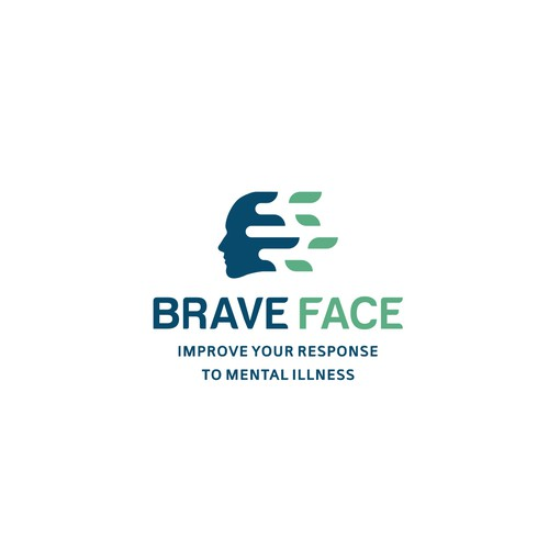 Non-profit logo for Brave Face