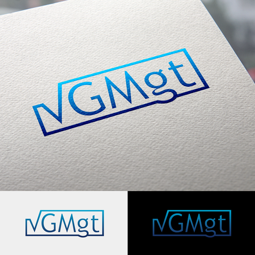 Design logo for new and innovative company vGMgt