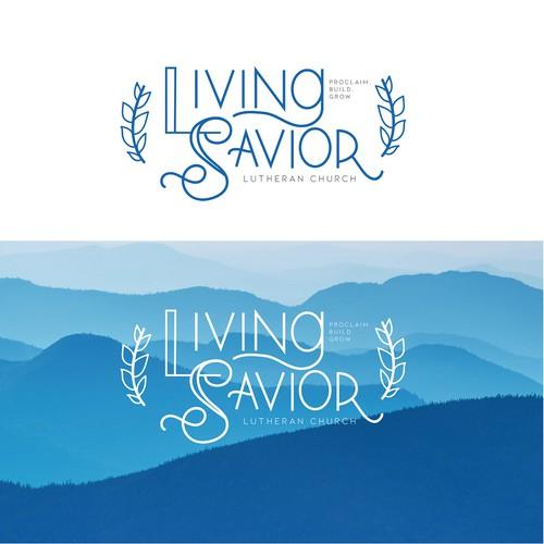 Living Savior Logo Concept