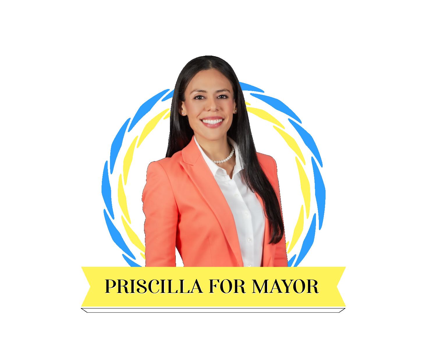 Priscilla Gonzalez for Mayor