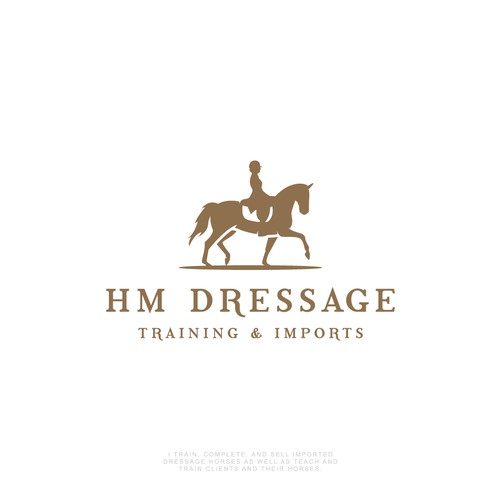 Horse logo for Dressage Rider