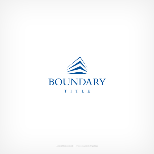 Logo for a title company