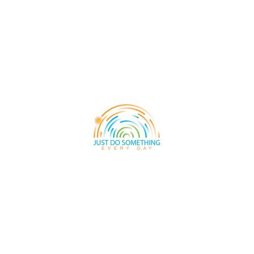 Iconic Illustration logo for Just do something everyday