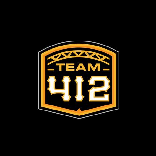 Logo for Pittsburgh Based Basketball Team