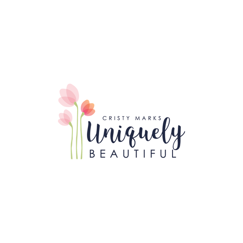 Logo for a brand that empowers women to be UNIQUELY BOLD