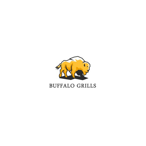 Buffalo Grills Logo Designs