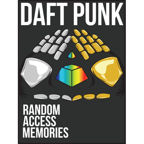 99designs community contest: create a Daft Punk concert poster