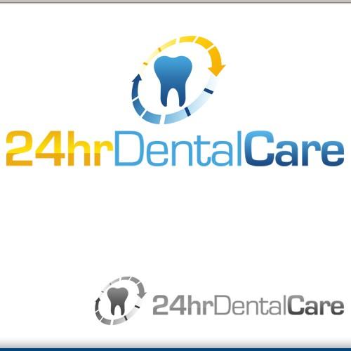Contest logo winner for 24hrDentalCare