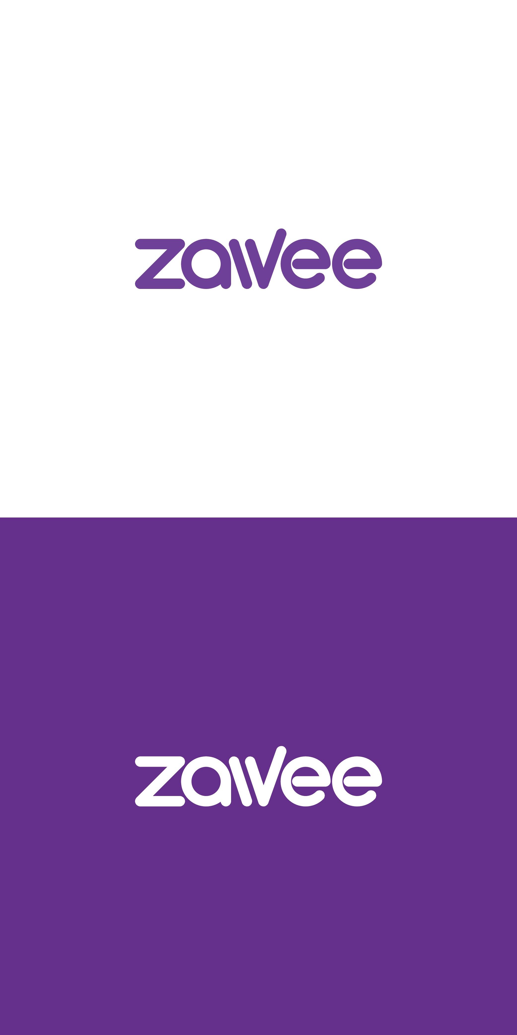 Zawee   Wordmark design for investor of energy startups