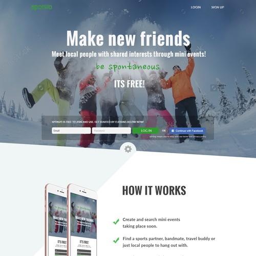 Sponvo App