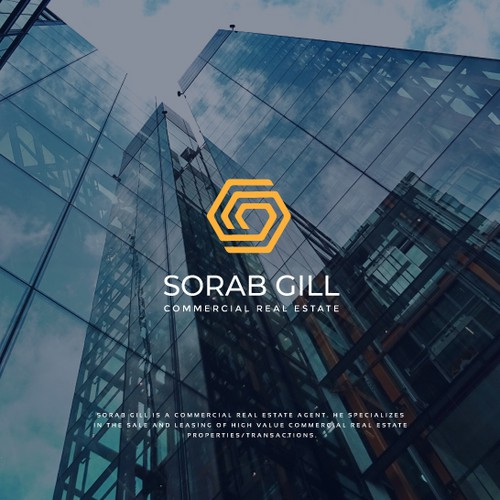 Create an edgy and sophisticated brand/logo for a Commercial Real Estate Brokerage