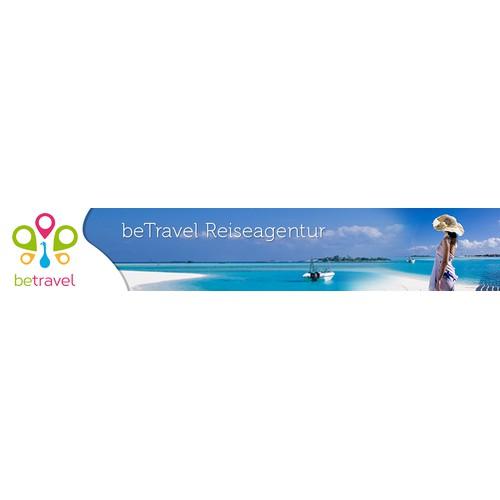 Travel Agency Website Header