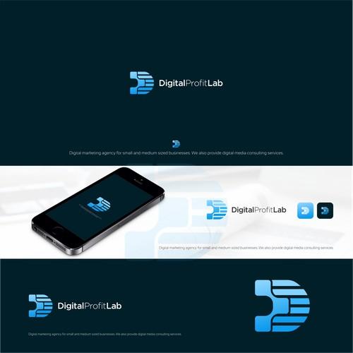 cool and modern concept design for Digital Profit Lab