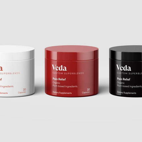 CBD Supplements Packaging Design